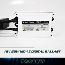 Top quality 1pc 55W Slim Ballast HID Xenon Ballast Replacement AC Electronic digital Ballasts For Car Headlight headlamps