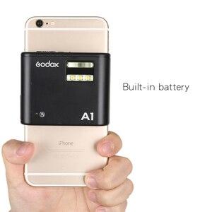 Image 3 - Godox A1 スマートフォンフラッシュシステム 2.4 グラムワイヤレスフラッシュフラッシュトリガーコンスタント Led ライトと iphone 6s 7 プラス