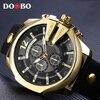 Relogio Masculino DOOBO Golden Men Watches Top Luxury Popular Brand Watch Man Quartz Gold Watches Clock