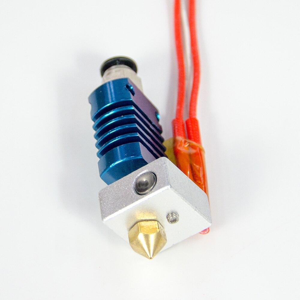 Longer LK1 LK2 Nozzle Set Copper Mouth Set MK8 Original Compatible With Alfawise U20 U30 Nozzle