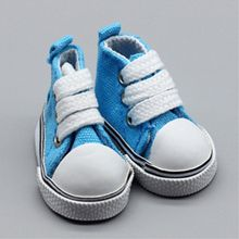 Mini Shoes for Dolls Bjd Fashion Shoe for Russian Canvas Doll Shoes DIY Handmade Doll Doll Accessories Toys for Children 1 Pair(China)