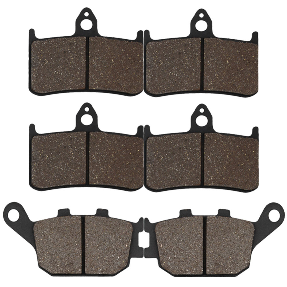 Cyleto Front and Rear Brake Pad for Honda CBR900RR CBR900 RR Fireblade 92-97 CB900 CB 900 Hornet 02-07 VTR1000 F Firestorm 97-06 180 16 9 fast fold front and rear projection screen back