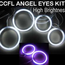 Высокое качество CCFL ангельские глазки halo Кольцо Комплект для Лада ВАЗ 2109 автомобиль 6 цветов доступны высокая яркость Длительный срок службы