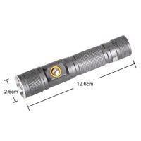 High Quality Professional XML T6 LED Flashlight 3 Modes Tactical Torch Flash Light Linterna LED Zaklamp