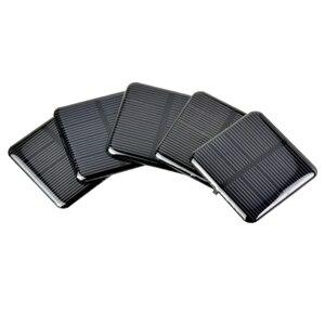 SUNYIMA 10pcs Epoxy Solar Panels 2V 160MA Polycrystalline Silicon Solar Cells Solar 50*50mm DIY Battery Charger Painel Solars
