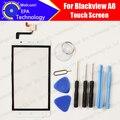 Blackview a8 pantalla táctil digitalizador 100% de garantía original del panel táctil de cristal digitalizador de pantalla para a8 envío libre + herramientas