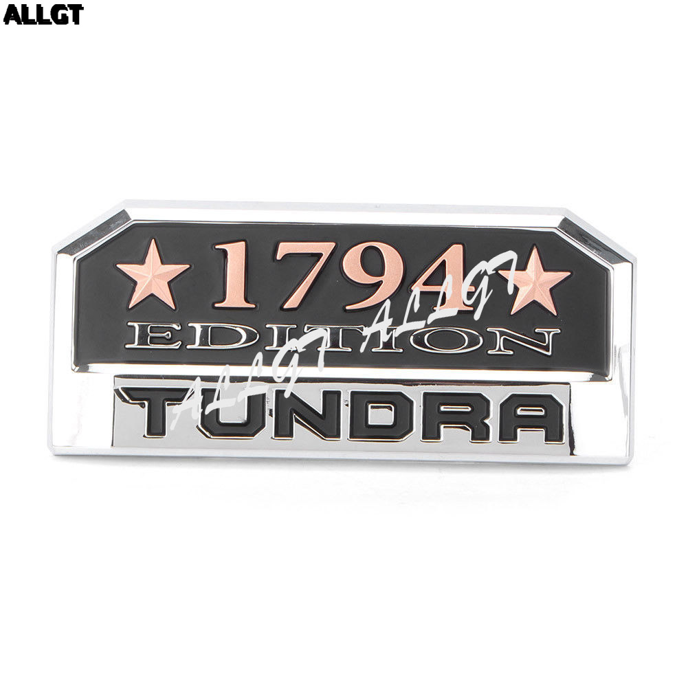 1x tundra 1794 edition badge emblem sticker for toyota tundra 2014 2018 in car stickers from automobiles motorcycles on aliexpress com alibaba group