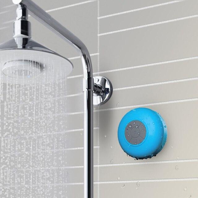 waterproof wireless bluetooth speaker mini portable bathroom speakers audio receiver music player for iphone samsung huawei - Bathroom Speakers