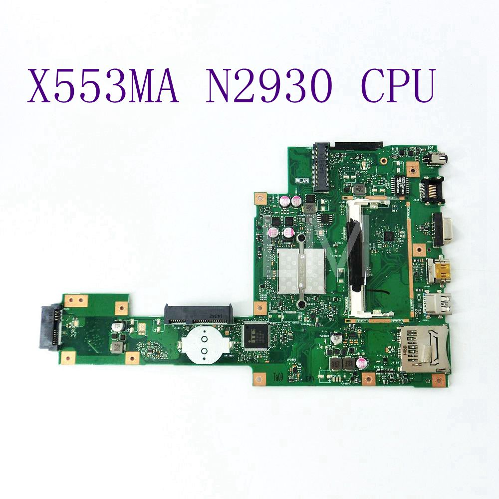 X553MA With N2930 CPU Mainboard REV 2.0 For ASUS F503M X503M F553MA X503MA D503M Laptop motherboard Tested Working Free Shipping цена