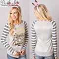 DARSJUCBD футболка женщины с длинным рукавом american apparel лоскутное Тройник camisetas femininas ropa mujer camisetas muje