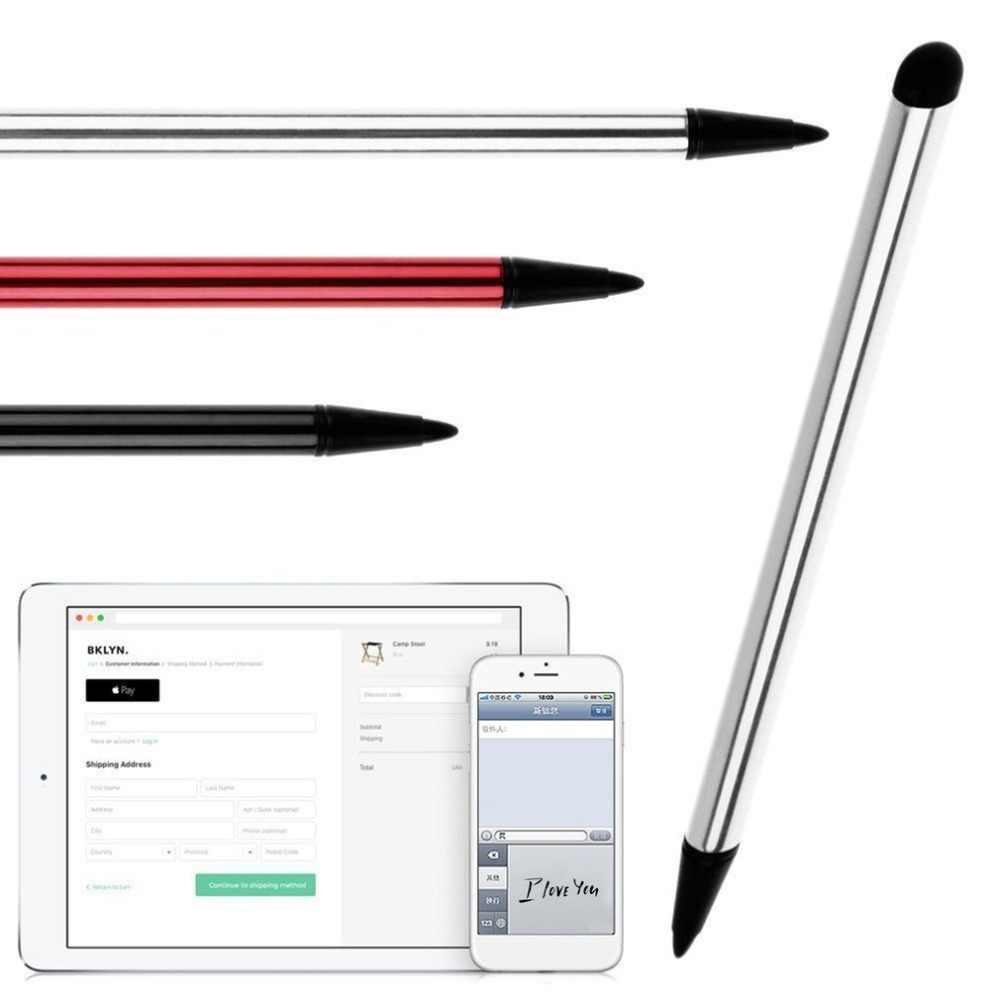 والملاحة الهاتف المحمول قوية التوافق اللمس شاشة ستايلس الحبر المعادن بخط القلم مناسبة للهاتف المحمول