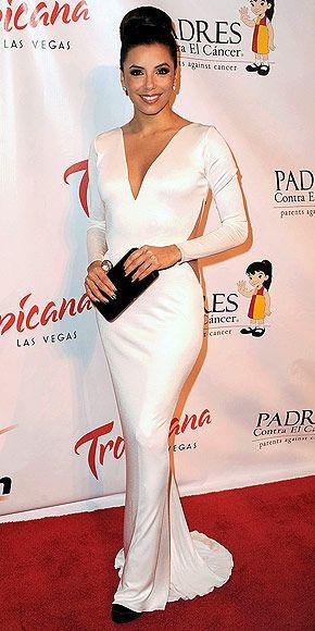 Eva longoria vestidos largos