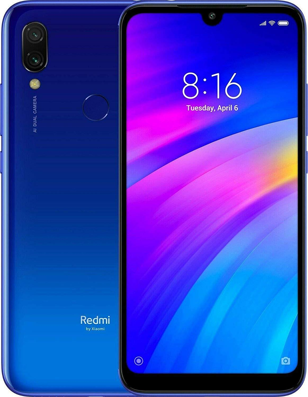 Xiaomi Redmi 7, Version globale, couleur bleu (bleu), double SIM, GB 16 de Memoria Interna, 2 gb Ram, ecran 6,26