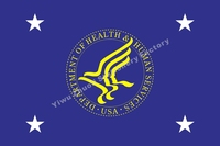 US Secretary Of Health And Human Services Flag 3ft X 5ft Polyester Banner Flying 150 90cm