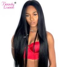 Human Hair Bundles Med Lukking Brasilian Straight Hair Weave 3 Bundler Med Lukking 4 Bundle Deals Non Remy Hair Extensions