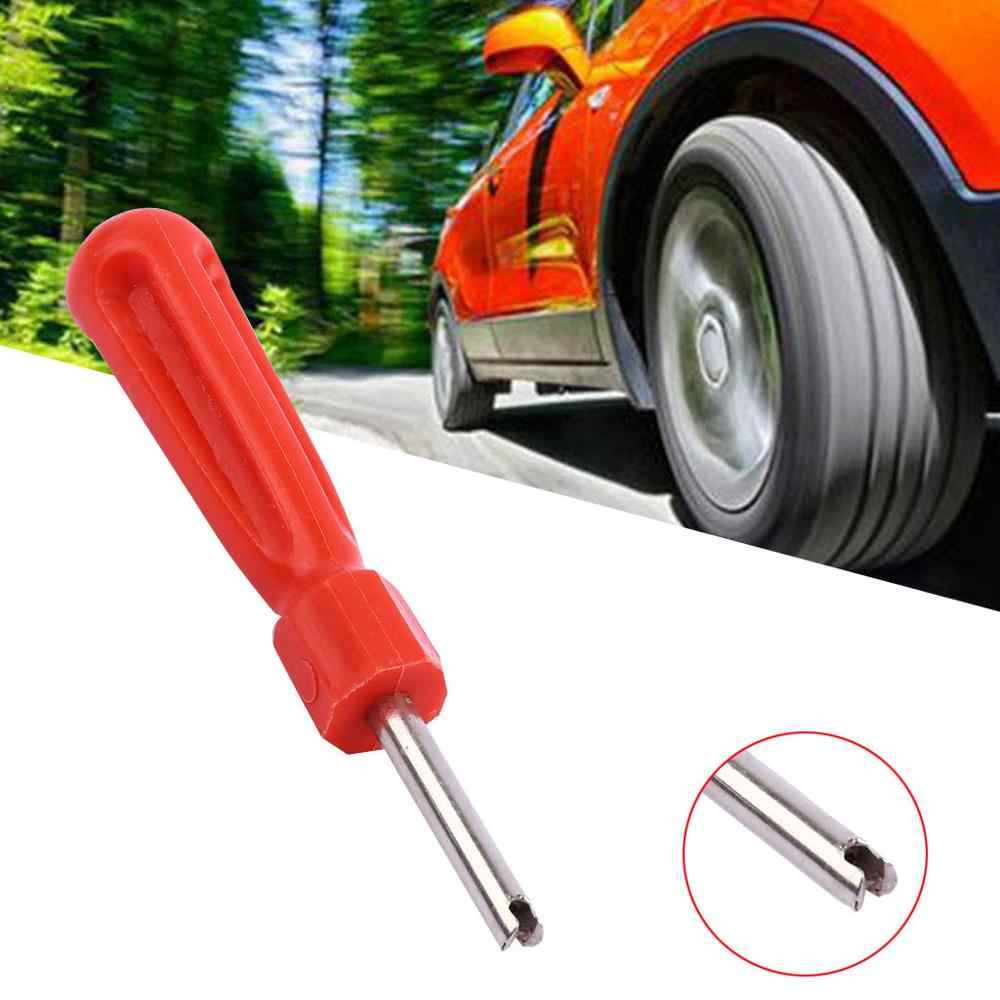 1X車タイヤバルブコア除去ツールタイヤの修復ツールバルブレンチドライバー自動車タイヤ電気車両バルブコアスイッチ