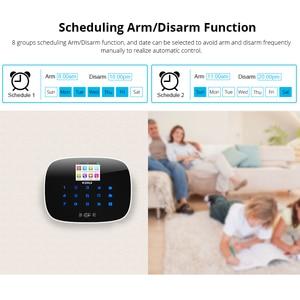 Image 5 - KERUI 3G WiFi GSM Sicherheit Alarm System PSTN RFID IOS Android APP Control Wireless Smart Home Alarmanlage Sensor alarm DIY kit