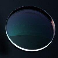 Chashma Brand Clear Color 1.8 Index Thin Lenses for Recipe Anti Sctatch Anti Reflective Prescription Glass