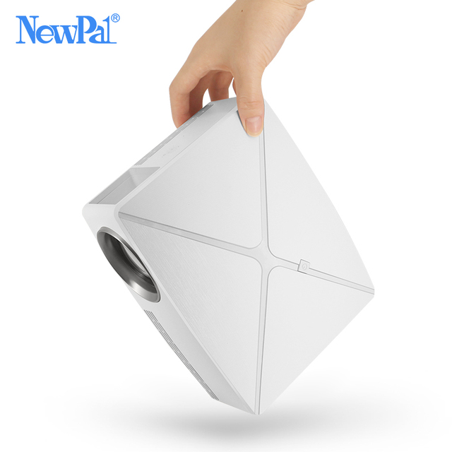 Newpal C80 UP Mini Projector 2200Lumens Projector 1280x720P Home Cinema (Android WIFI Option) 720P HD Beamer LED Proyector c80 2