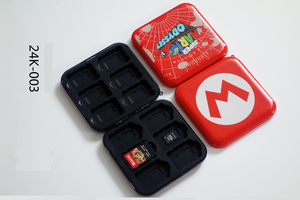 Image 4 - Frosting 12in1 for Nintendo Switch Game Card Holder Cartridge Slots for Switch Game Card Storage Box Case + 12 Micro SD slot