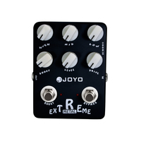 JOYO JF 17 Extreme Metal Electric Guitar Effect Pedal StompBox 3 Bands Powerful EQ 6 Knobs