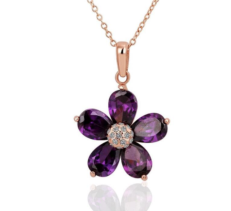 Jaymaxi Multi-layered Necklace Clothing Accessories For Women Classic Color Acrylic Flower Short Necklace Birthday Gifts B7231