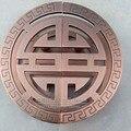 Китайский античный полукруглая стеклянная дверь ручка дверная ручка дверная ручка полые бронзовые двери отеля