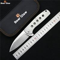 Коготь медведя Сокол Флиппер складной нож M390 лезвие Titannium ручка шарикоподшипник Открытый Отдых Выживание фрукты Ножи EDC инструменты