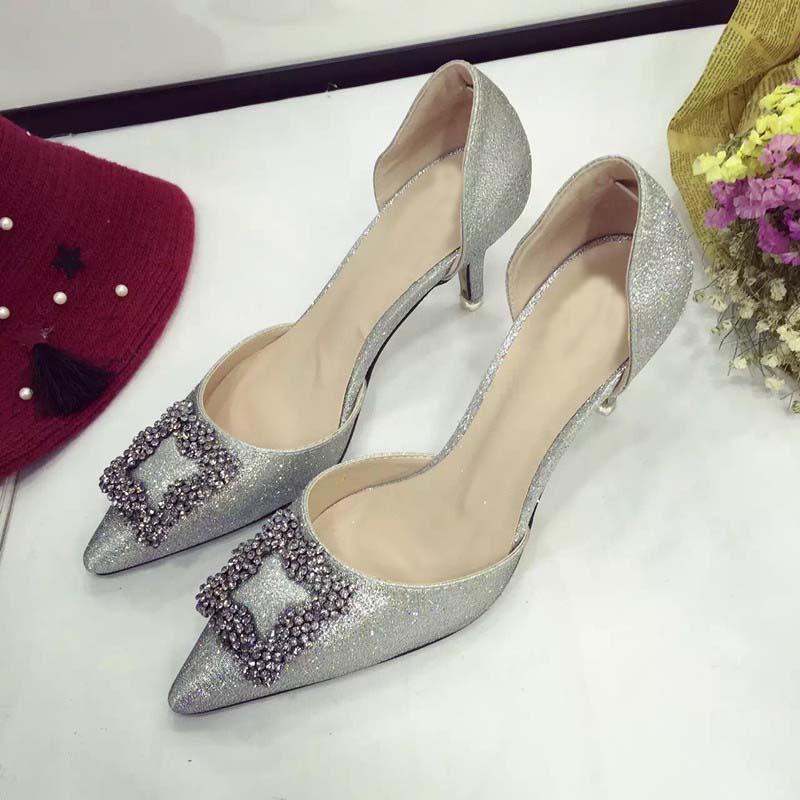Gray Kitten Heels | Fs Heel