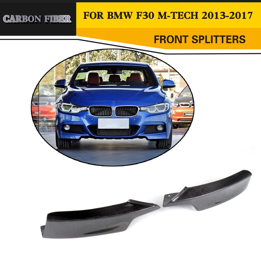 Carbon Fiber Racing Front Splitters Lip For BMW 3 Series