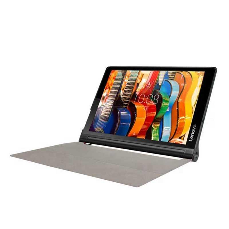 اللوحي واقية غطاء لجهاز Lenovo اليوغا Tab3 زائد 10.1 YT-X703 بو حقيبة جلد لينوفو اليوغا تبويب 3 X90F/X90L جراب كمبيوتر لوحي