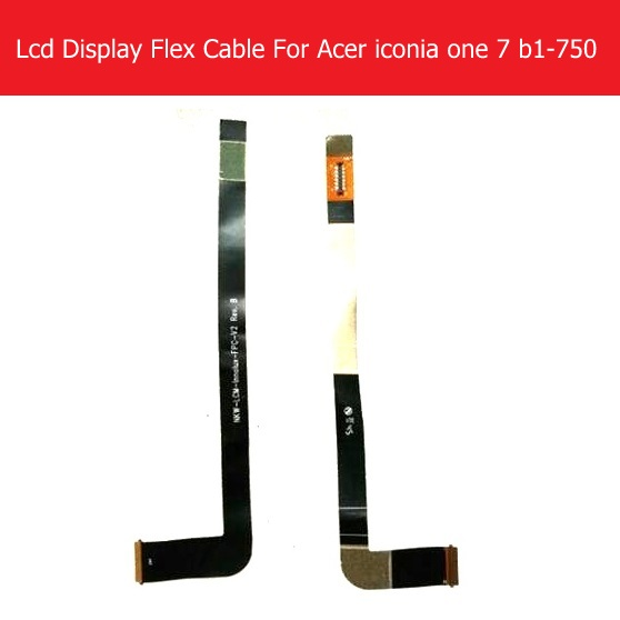 WEETEN Genuine LCD Panel Flex Cable For <font><b>acer</b></font> iconia one 7 <font><b>b1</b></font>-750 LCD Display PCB Flex cable connect mainboard replacement image