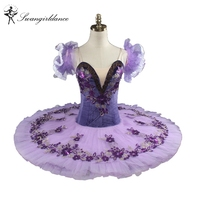 New Arrival Adult Purple Professional Tutu Classical Ballet Tutu Ballerina Costume Tutu DanceBT9092