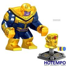 HOTEMPO D027 D031 Thanos Infinity Gauntlet Mini Action Figure Block Avengers Infinity War Super HeroesBuilding Blocks Toys