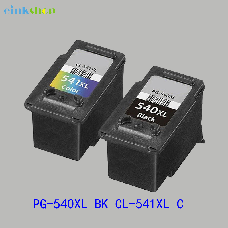 einkshop For Canon PG-540 CL-541 Ink Cartridges PG 540 CL 541 For canon PIXMA mg3250 MG3255 MG3550 MG4100 mg4150 MG4200 mg4250 pg 240xl cl 241xl black color ink cartridges for canon mx372 mx392 mx432 mx439