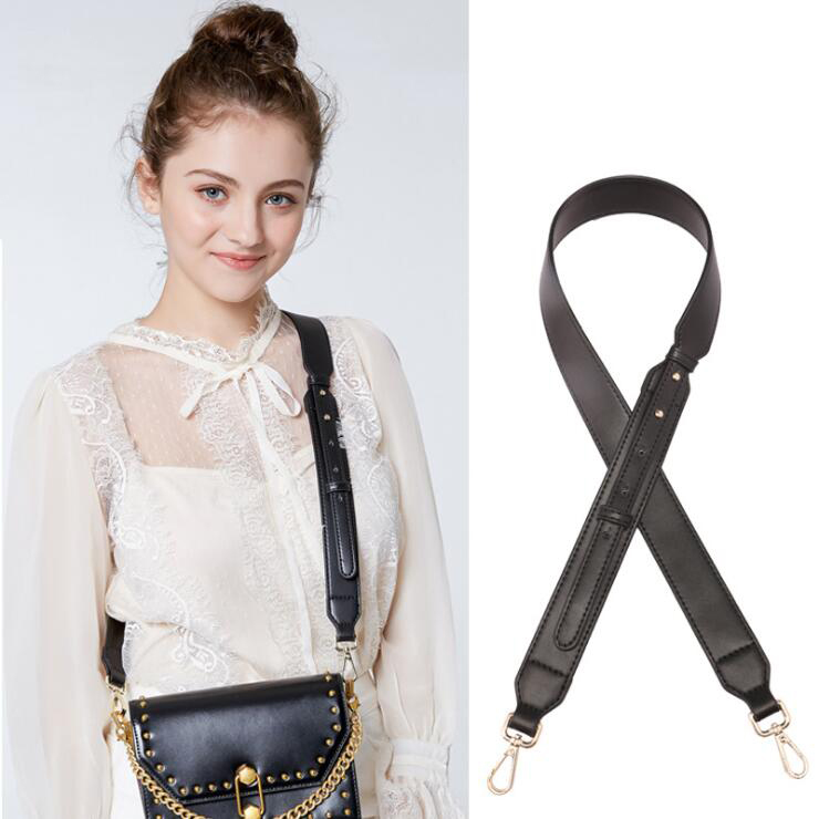 Womens Bags Wide Strap for Crossbody Handbags Shoulder Bag Genuine Leather Straps Adjustable Bags Accessories Handle Replacement
