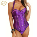 Burlesque Lace-Up Overbust Corset