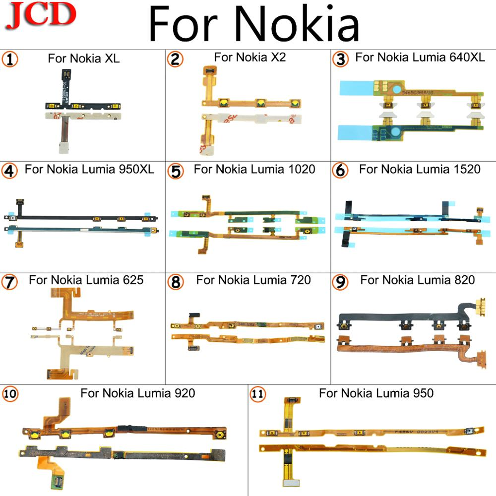 JCD For Nokia Lumia 640XL 950XL 1020 Power On / Off Button Volume Button Mute Switch Flex Cable For Nokia XL RM-1030 RM-1042 X2 image