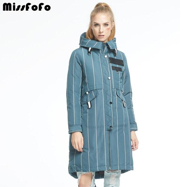 Missfofo 2017 Для женщин утка Подпушка пальто Модная брендовая зимняя куртка-пуховик светло-голубой