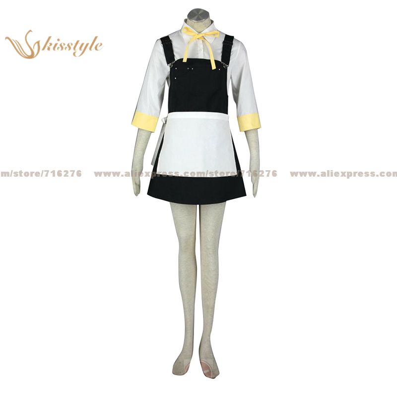 Kisstyle Fashion Technology CO. LTD Kisstyle Fashion VOCALOID Kagamine Rin Alice Uniform COS Clothing Cosplay Costume,Customized Accepted