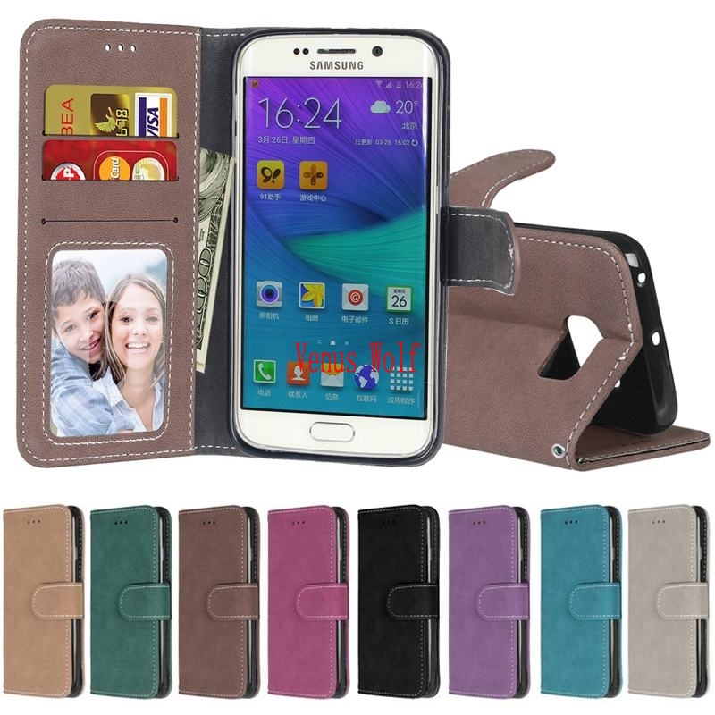 For Coque Samasung Galaxy S6 SM-G920 SM-G920F SM-G920i Case Wallet Flip Cover for Samsung Galaxy S6 Edge SM-G925F SM-G925i Case ...