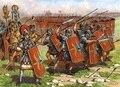 Солдат Рима имперская пехота (ДО Н. Э. Я-кат II) 1/72 пехотный фаланга (также называемый черепаха осады массив) собрать Модель