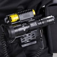 Venta Más Vendidos NITECORE P20 linterna táctica LED impermeable al aire libre Camping caza portátil NTH30B 2300mAh