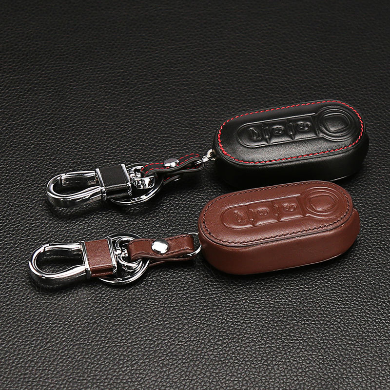 classic design 100 leather key car key holder car cover. Black Bedroom Furniture Sets. Home Design Ideas
