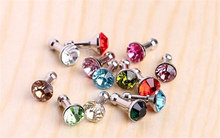 Cell Phone Accessories Crystal Bling Anti Dust Plug