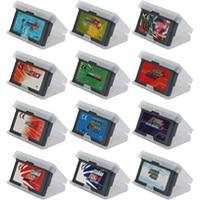 Video Game Cartridge 32 Bits Game Console Card Megae Man Games Series US EU Version English