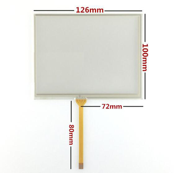 5.6 Inch Touch Screen TM056KDH01 Industrial Touch Screen AT056TN53 V.1 Handwriting Screen 126*100