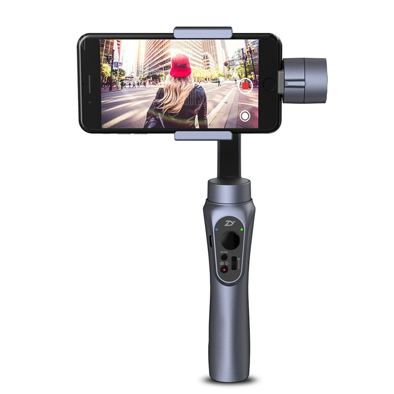 New Arrival Zhiyun Smooth Q Handheld 3-Axis Gimbal Stabilizer for Smartphone for Gopro 3 4 5and Zhiyun ZW-B01 Remote yuneec q500 typhoon quadcopter handheld cgo steadygrip gimbal black