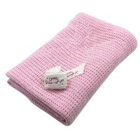 Newest Newborn Baby Blankets Cotton Swaddling Crochet Prop Crib Sleeping Bed Supplies 100cmX75cm A