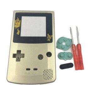 Image 3 - Oro Argento Per Nintendo GameBoy Color Cover di Ricambio Borsette Per GBC